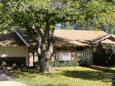 Wichita Falls Single Family Home For Sale: 1610 Celia Drive