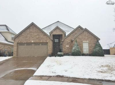 Wichita Falls Single Family Home For Sale: 7 Prairie Lace Court