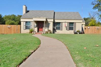Wichita Falls Single Family Home For Sale: 3304 Cumberland Avenue