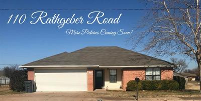 Single Family Home For Sale: 110 Rathgeber Road