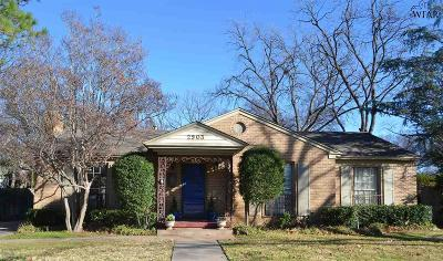 Wichita Falls Single Family Home For Sale: 2903 Taft Boulevard
