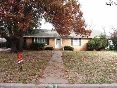 Single Family Home For Sale: 3510 Wichita Street