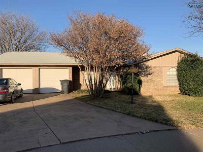 Wichita Falls Single Family Home For Sale: 4 Brandy Lane
