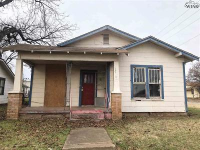 Wichita County Multi Family Home For Sale: 2000 Fillmore Street