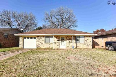 Wichita Falls Single Family Home For Sale: 2936 Moffett Avenue