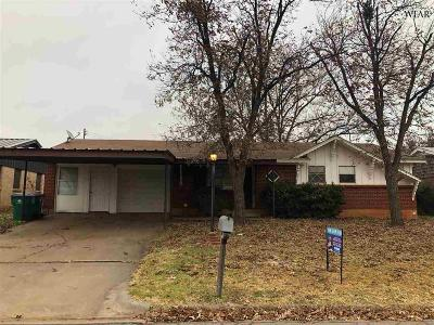 Iowa Park Single Family Home For Sale: 109 Wood Circle