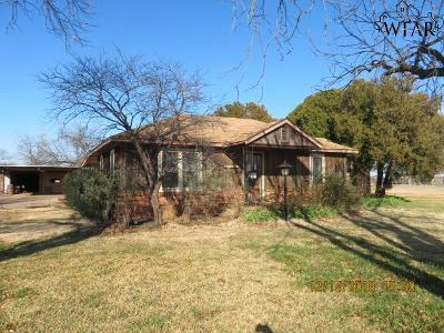 Iowa Park Single Family Home For Sale: 2960 Fm 367