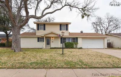 Wichita Falls Single Family Home For Sale: 4617 Sierra Madre Drive