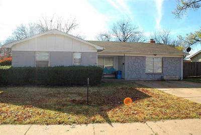 Wichita Falls Single Family Home For Sale: 4506 Alamo Drive