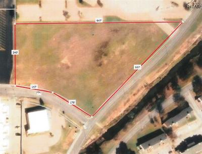 Wichita Falls Residential Lots & Land For Sale: 3.4 Acres Maplewood Avenue