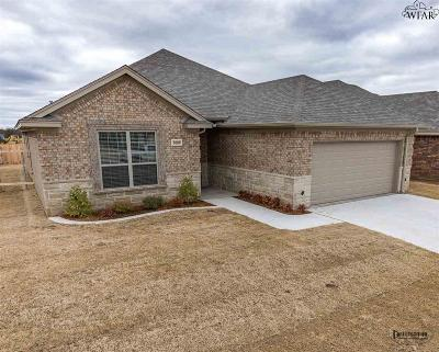 Wichita County Single Family Home For Sale: 5008 Blue Mesa Lane