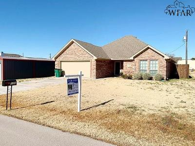 Wichita Falls Single Family Home For Sale: 330 Mariners Way