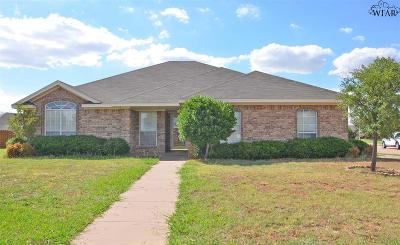 Wichita Falls Single Family Home For Sale: 1 Jacob Court