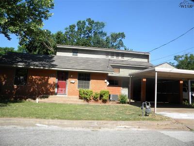 Burkburnett Single Family Home For Sale: 115 Smith Avenue