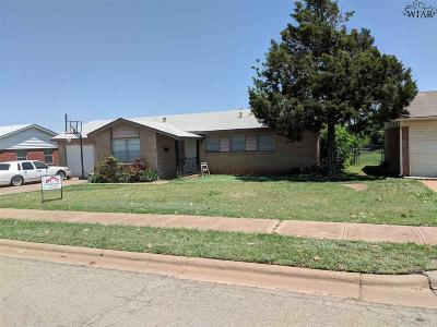 Wichita Falls Single Family Home For Sale: 4109 Lenore Drive