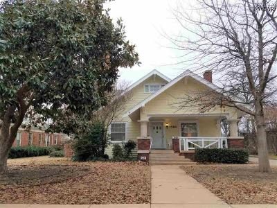 Wichita Falls Single Family Home For Sale: 1504 Hayes Street