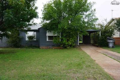 Wichita Falls Single Family Home For Sale: 2222 Gilbert Avenue