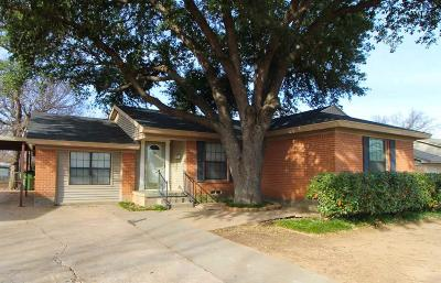 Wichita Falls Single Family Home Active W/Option Contract: 4120 Hughes Drive