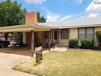 Wichita Falls TX Single Family Home For Sale: $95,000