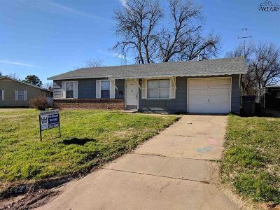 Wichita Falls Single Family Home For Sale: 1642 Longview Street