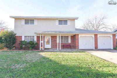 Wichita Falls TX Single Family Home For Sale: $127,900