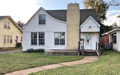 Wichita Falls Single Family Home For Sale: 2104 Hayes Street