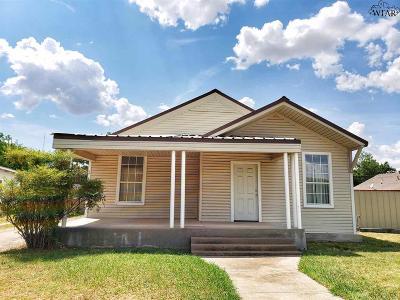 Wichita Falls TX Single Family Home For Sale: $42,500