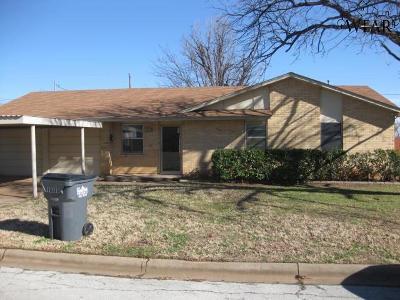 Wichita Falls Single Family Home For Sale: 1403 Ruidosa Drive