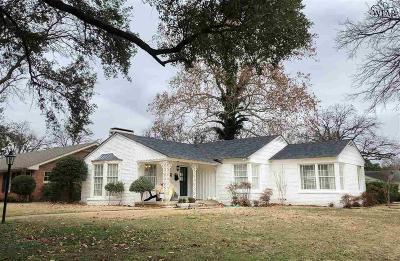 Wichita Falls TX Single Family Home For Sale: $171,800