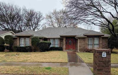 Wichita Falls Single Family Home For Sale: 2811 Happy Hollow Drive