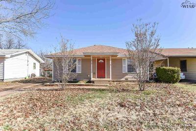 Wichita Falls TX Single Family Home For Sale: $85,000