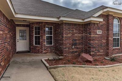 Wichita Falls Single Family Home For Sale: 5028 Cy Young Drive