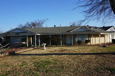 Wichita Falls TX Single Family Home For Sale: $115,000