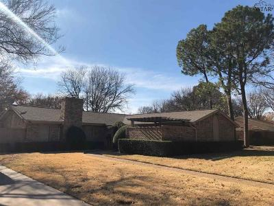 Wichita Falls Single Family Home For Sale: 2305 Brook Hollow Drive