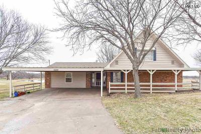 Wichita Falls Single Family Home For Sale: 5539 Turkey Ranch Road