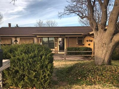 Wichita Falls Single Family Home For Sale: 2306 Reilly Road