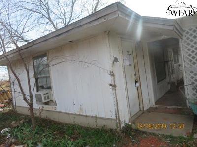 Wichita Falls Single Family Home For Sale: 199 Homestead Lane