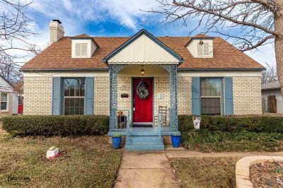 Wichita Falls TX Single Family Home For Sale: $102,000