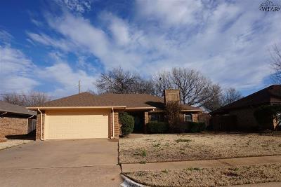 Wichita Falls Single Family Home For Sale: 5302 Long Leaf Drive
