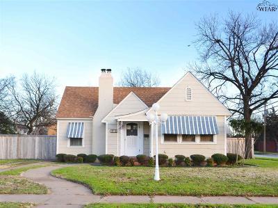 Wichita Falls TX Single Family Home For Sale: $154,900