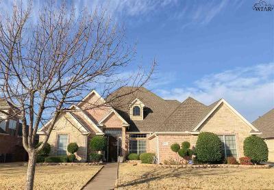 Wichita Falls TX Single Family Home For Sale: $339,900