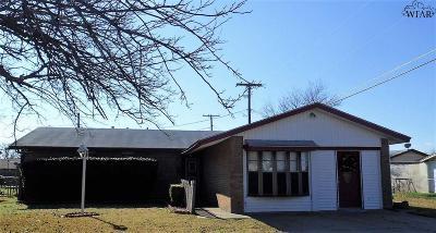 Wichita Falls Single Family Home For Sale: 4119 Aspen Street