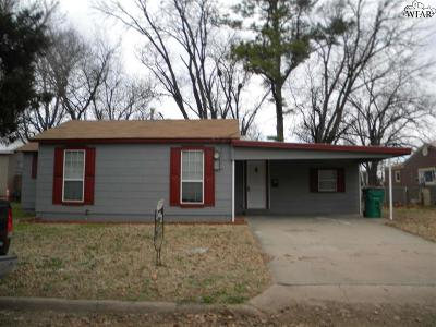 Burkburnett TX Single Family Home For Sale: $45,000