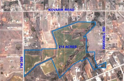 Wichita Falls Residential Lots & Land For Sale: 3708 Parkhill Road