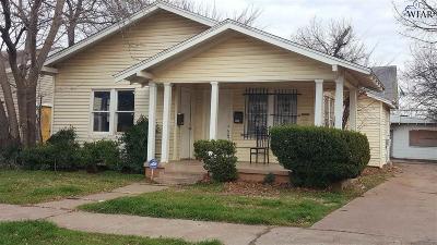 Wichita Falls Multi Family Home Active W/Option Contract: 2005 Fillmore Street
