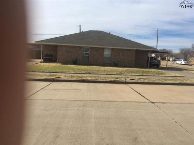 Wichita Falls Multi Family Home Active W/Option Contract: 4100 Latricia Lane