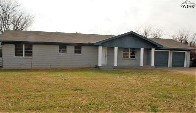 Iowa Park Single Family Home Active-Contingency: 509 W Texas Avenue