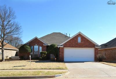 Wichita Falls Single Family Home Active W/Option Contract: 5104 Sunnybrook Lane