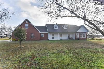 Archer County Single Family Home For Sale: 2551 Parker Road