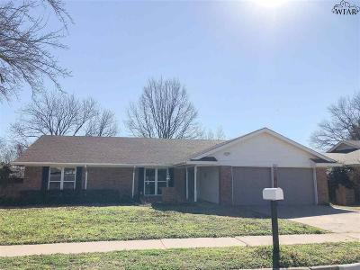 Wichita Falls Single Family Home Active W/Option Contract: 2803 Elmwood Avenue